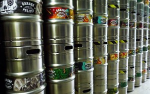 garage project keg wraps by label and litho NZ