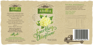 Aroha Sparkling Elderflower