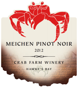 Meichen Pinot Noir wine label