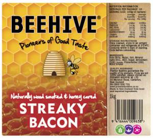 Streaky Bacon, Premier Beehive