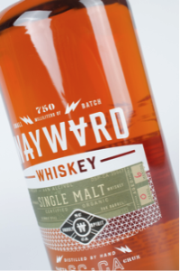 Wayward Whiskey Beverage Label
